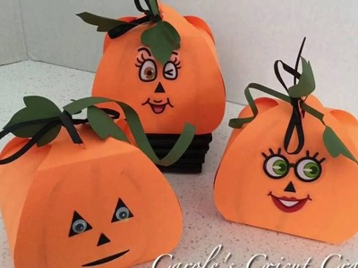 'HOW TO' Puffy Pumpkin Treat Boxes