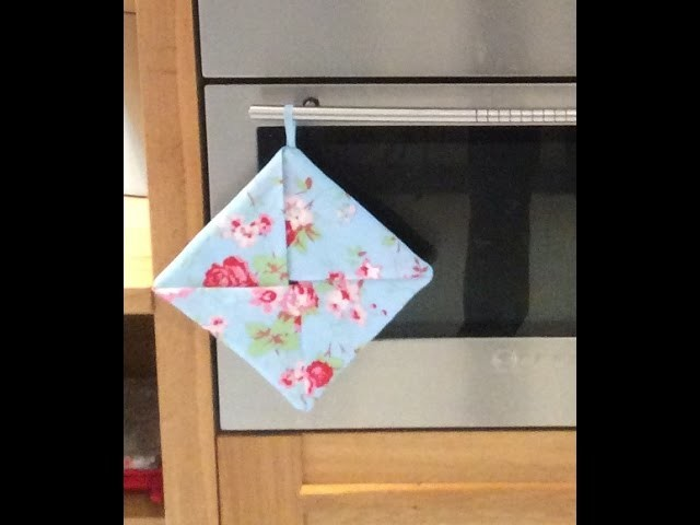 How To Sew A Pot Holder