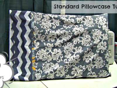 How To: Sew A Standard Pillowcase (Sewing For Beginners)