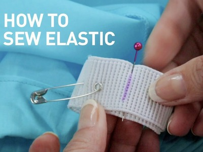 How to sew elastic (2 techniques) | Sewing Tutorial with Angela Wolf