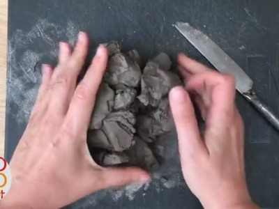 How to soften hard air drying clay easily - Clay hacks & Clay Tips  (Crafts Basics Series)