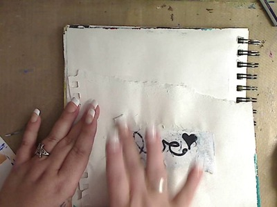 How to use Mod Podge and A sharpie to image Transfer