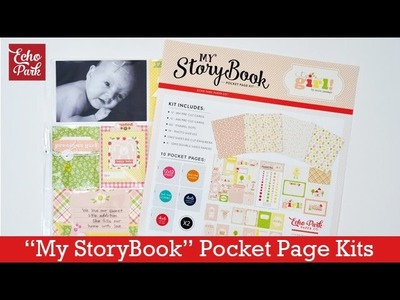 How to Use My StoryBook Pocket Page Kits