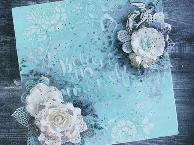 How to Use Pastes, Gels with Color Bloom 2 Sprays with Sharon