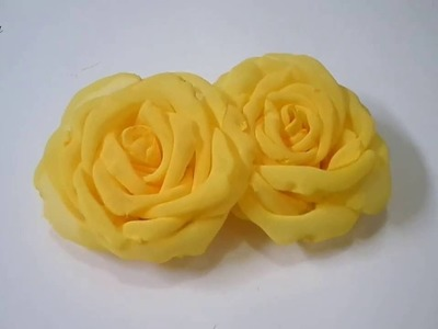 [ Jebros Tutorial ] how to make Bloomy Fabric Rose