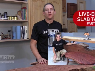 Live-Edge Slab Table Part 2 - How To Make a Beautiful Tabletop