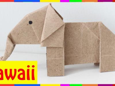 Origami Elephant - How To Fold Elephant ( Origami Hawaii )