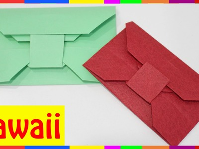 Origami Envelope - How To Fold Envelope ( Origami Hawaii )