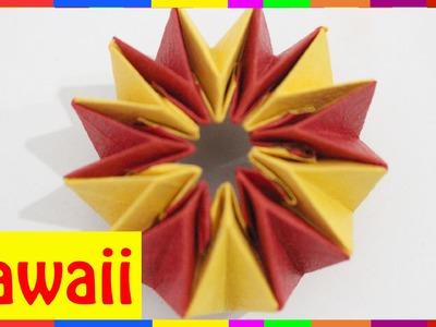 Origami Firework - How To Fold Firework ( Origami Hawaii )