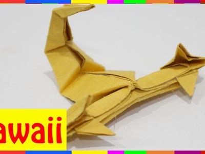 Origami Scorpion - How To Fold Scorpion ( Origami Hawaii )