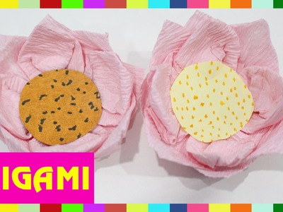Origami Shower - How To Fold Shower  (Kasumi Paper)