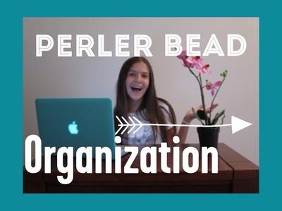 Perler Bead Organization.How I Organize My Perler Beads+Tips and Tricks!!