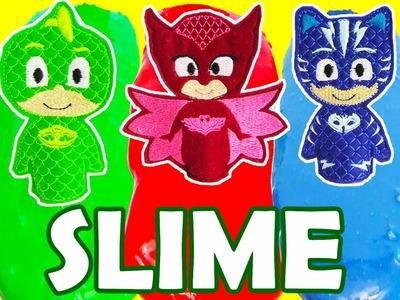 PJ Masks SLIME How to Make Colorful Slime