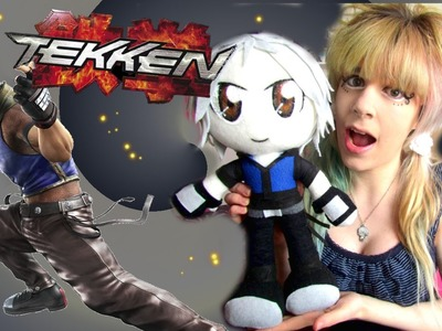 PLUSH DETAILS- How to make a Lee Chaolan plushie- Tekken- Fancy a challenge?- Cloctor Creations