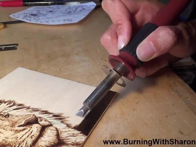 Pyrography: How to Burn Smooth Black Backgrounds