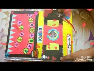 Scrapbook for best friend # Happy Birthday # bff #lots of love# by saloni