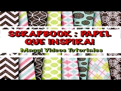 Scrapbook Papel  (Papel Deco )