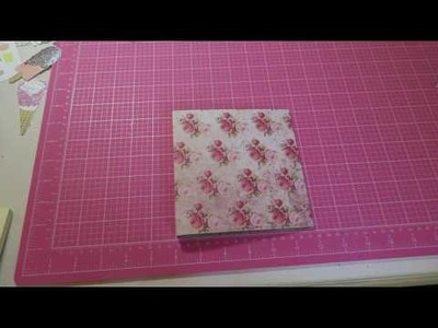 "Super Easy Flipbook Tutorial!!!  How I Assemble And Create A 1.2"" Gusset And More :)"
