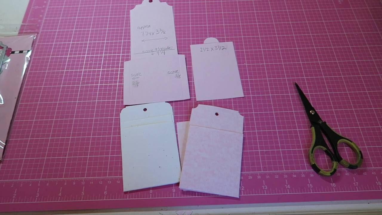 SUPER EASY TUTORIAL~ HOW TO: MAKE YOUR OWN POCKET TAG!