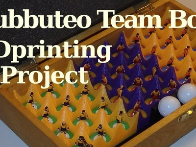 3D printing DIY Subbuteo Team Box