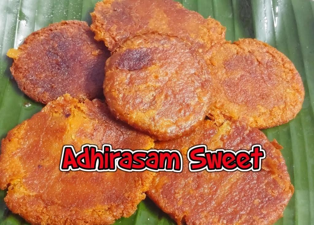 Adhirasam Sweet. How to make Adhirasam Sweet - Tasty Appetite