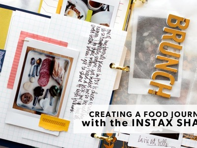 Creating a Food Journal Scrapbook with the FujiFilm Instax Share Printer