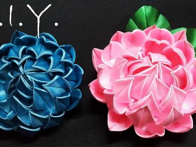 D.I.Y. New Kanzashi Lotus | MyInDulzens