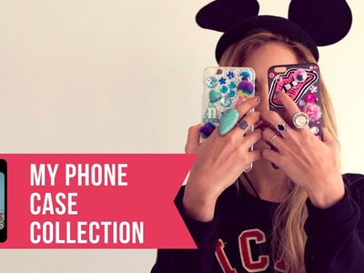 D.I.Y.  Phone Case + My Phone Case Collection | Nati Saal ♥