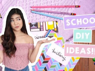 DIY Back-To-School Supplies | Janina Vela