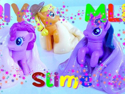 DIY How to Make Slime for (MLP) My Little Pony - Kids' Toys