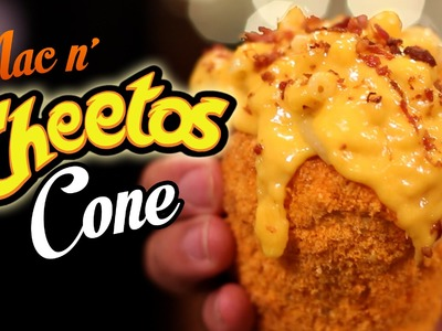 DIY Mac n' Cheetos CONE