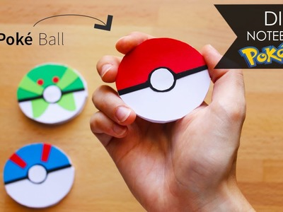 DIY Notebook ◎ Poké Ball - Pokémon