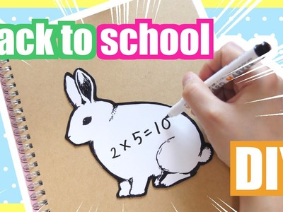 DIY White board notebook | Back to School