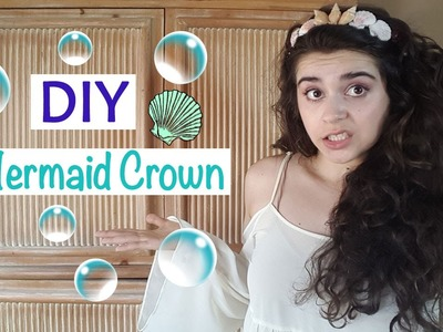 Easy DIY Mermaid Crown Headband | Vicky Bermudez