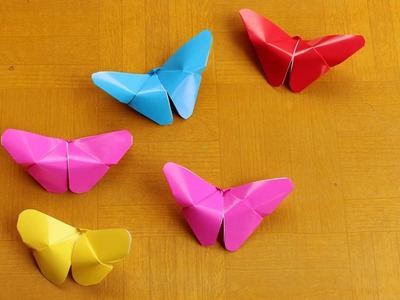 Easy origami how to make butterfly paper