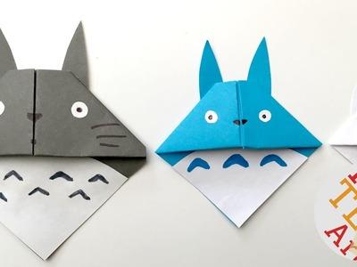 Easy Totoro Bookmark - Origami - Paper Crafts