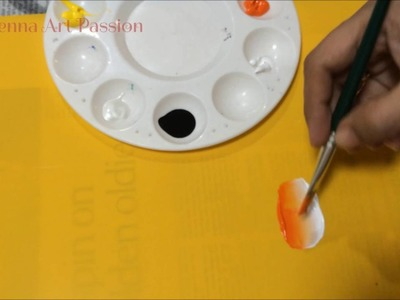 How I load brush in one stroke painting