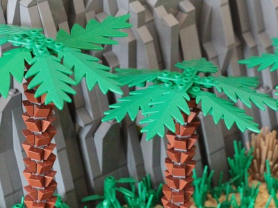 How to build a LEGO Palm Tree