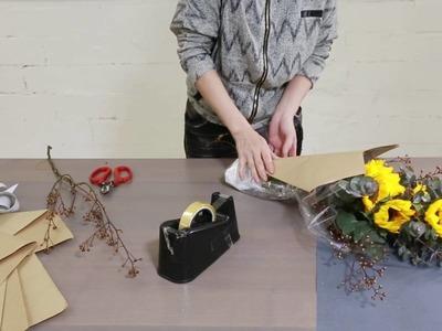 How to create a beautiful Mini Sunflower Bouquet