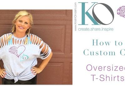 How to Custom Cut Tshirt, Version 1