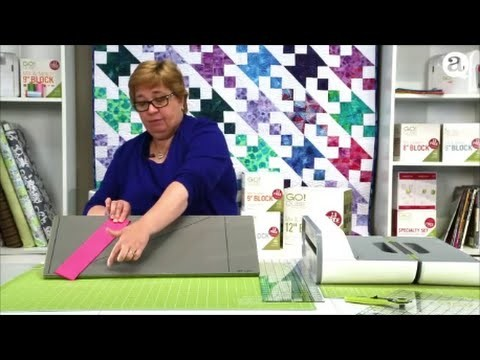 How to Cut Diamonds with AccuQuilt GO! Strip Cutter Dies (Quick Tips)