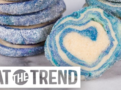 How to DIY Easy Geode Cookies | Eat the Trend