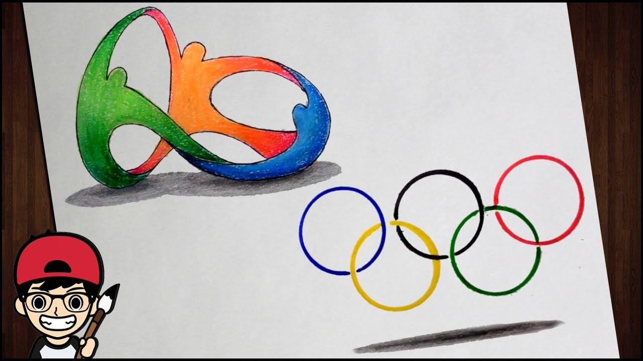 How To Draw a Rio 2016 Olympic Logo