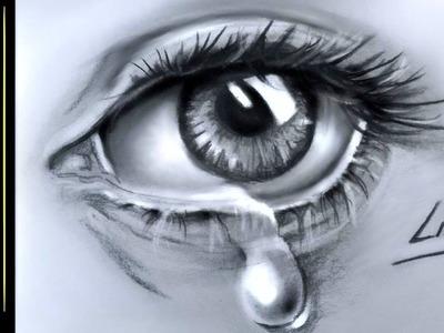 How to draw a TearDrop in eye