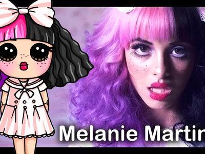 How to Draw Melanie Martinez step by step Chibi - Dollhouse Music Video