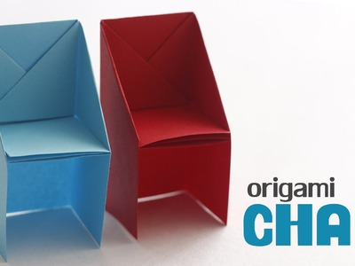 How to Fold : Origami Chair | Paper Craft