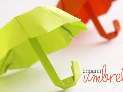 How to Fold : Origami Umbrella