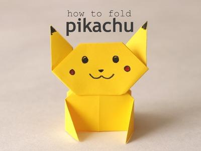 How to fold : Pikachu | Pokémon