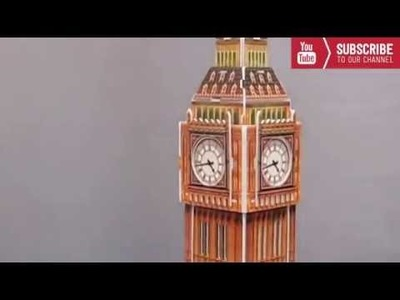 How To Make a Big Ben Tower in London - DIY Big Ben Model