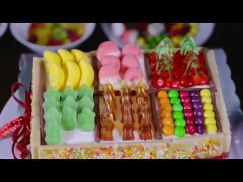 How to make a candy box cake!